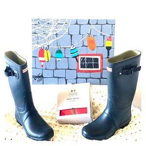 Hunter Wellie Boots - Huntress Wide Calf